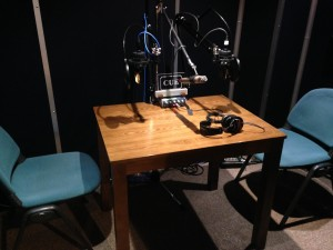 ラジオ収録配置